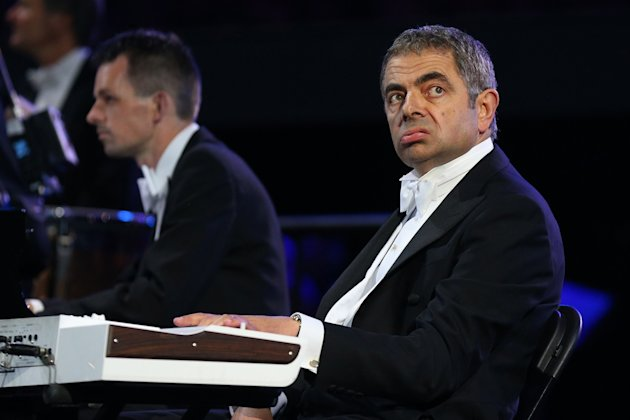 Mr Bean opening ceremony