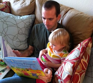 How to start a book club with your baby!
