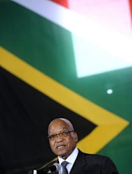 South African President Jacob Zuma speaks at a social cohesion summit in Kliptown, Soweto. President Jacob Zuma stressed at the talks held in Soweto, the Johannesburg township that became synonymous with South Africa's struggle for freedom, that reconciliation had to involve both sides