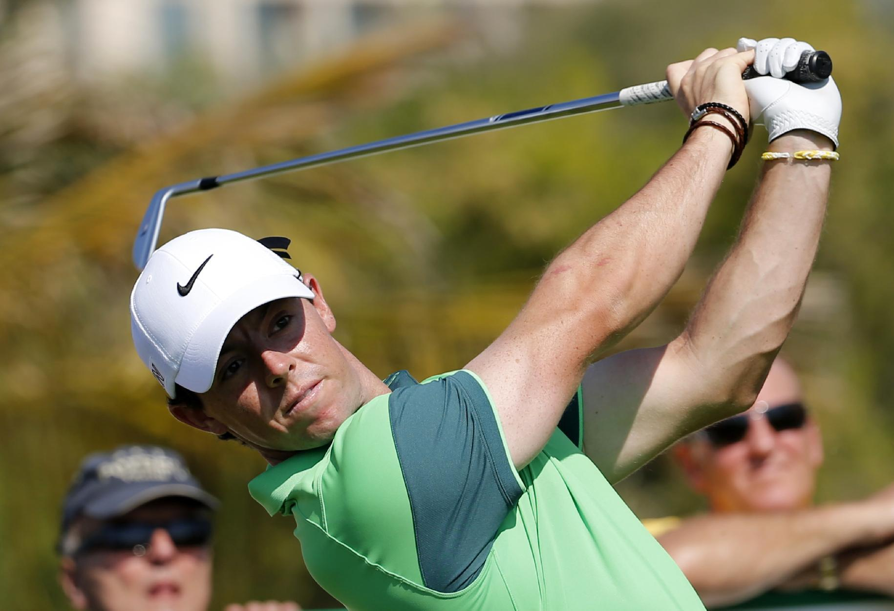 Rory McIlroy off to another good start in the Dubai Desert Classic