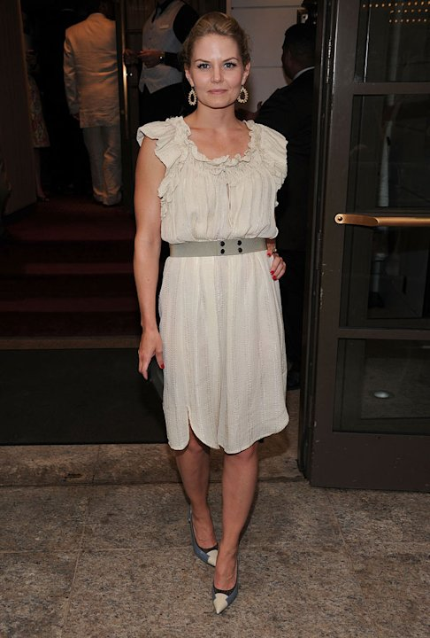 "Jennifer Morrison attends the opening night of ""Master Class"" on Broadway at Samuel J. Friedman Theatre on July 7, 2011 in New York City."