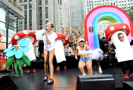 "Miley Cyrus Calls Sinead O'Connor ""Incredible,"" Is ""Not Too Worried"" About Backlash: Today Show Interview"