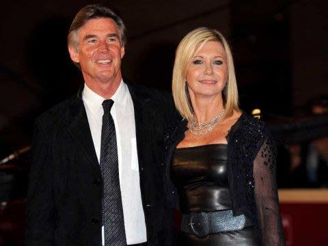 Olivia Newton John and husband John Easterling