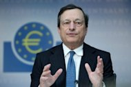 &lt;p&gt;Mario Draghi, president of the European Central Bank, addresses a press conference in Frankfurt am Main, on August 2. The European Central Bank has broken new ground in the eurozone crisis with hints that it could start unlimited buying of stricken member states&#39; bonds to drive down their crippling borrowing costs.&lt;/p&gt;