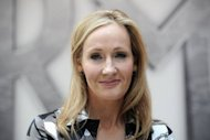 "The first novel for adults by Harry Potter author J.K. Rowling, seen here in June, will be the ""blackly comic"" tale of a fraught parish council election in a quaint English town, her publishers have announced"