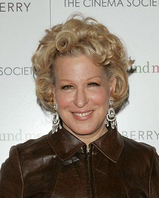 Bette Midler at the New York premiere of ThinkFilm's  Then She Found Me