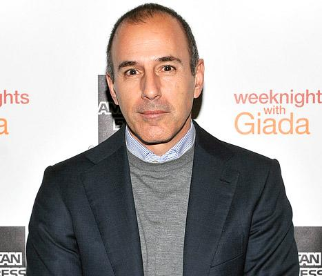 "Matt Lauer Apologizes to Former Intern Who Called Him ""Not So Nice"""