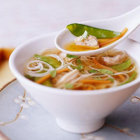Soy-Ginger Chicken Soup