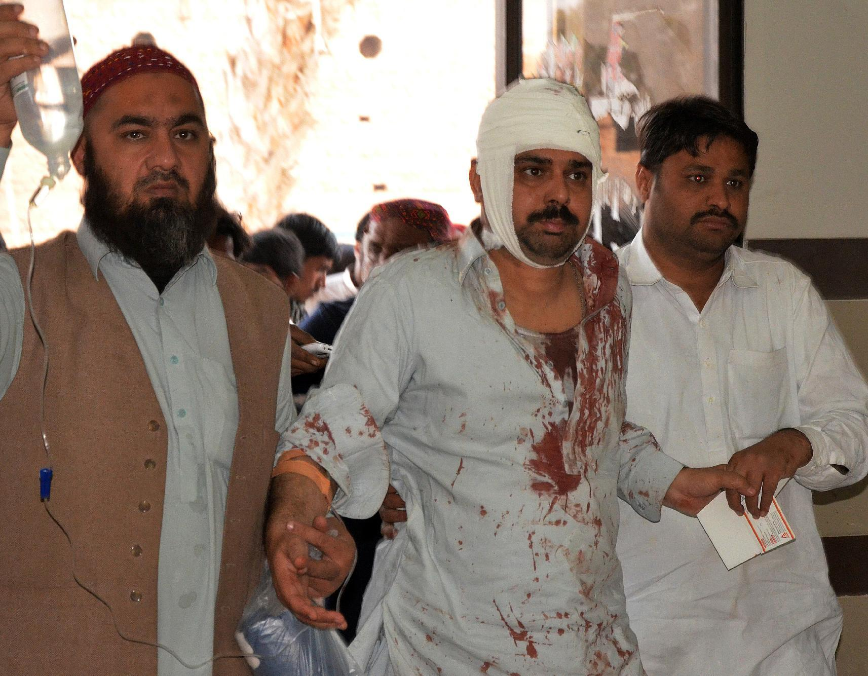 Bomb attack at Pakistani mosque kills over 60