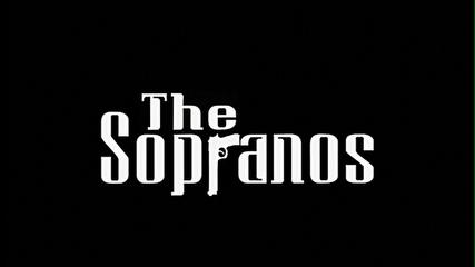 The logo for The Sopranos gives the illusion of urban life in New Jersey.