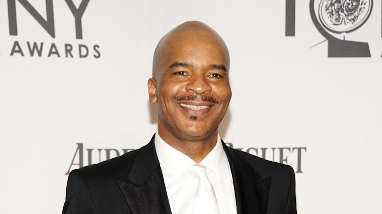 "FILE - This June 10, 2012 file photo shows David Alan Grier at the 66th Annual Tony Awards in New York. Grier is nominated for a Grammy Award for best musical theater album for the cast album for ""The Gershwins' Porgy and Bess."" (Photo by Evan Agostini /Invision/AP, file)"