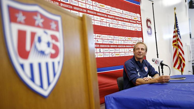 US begins World Cup training camp in California