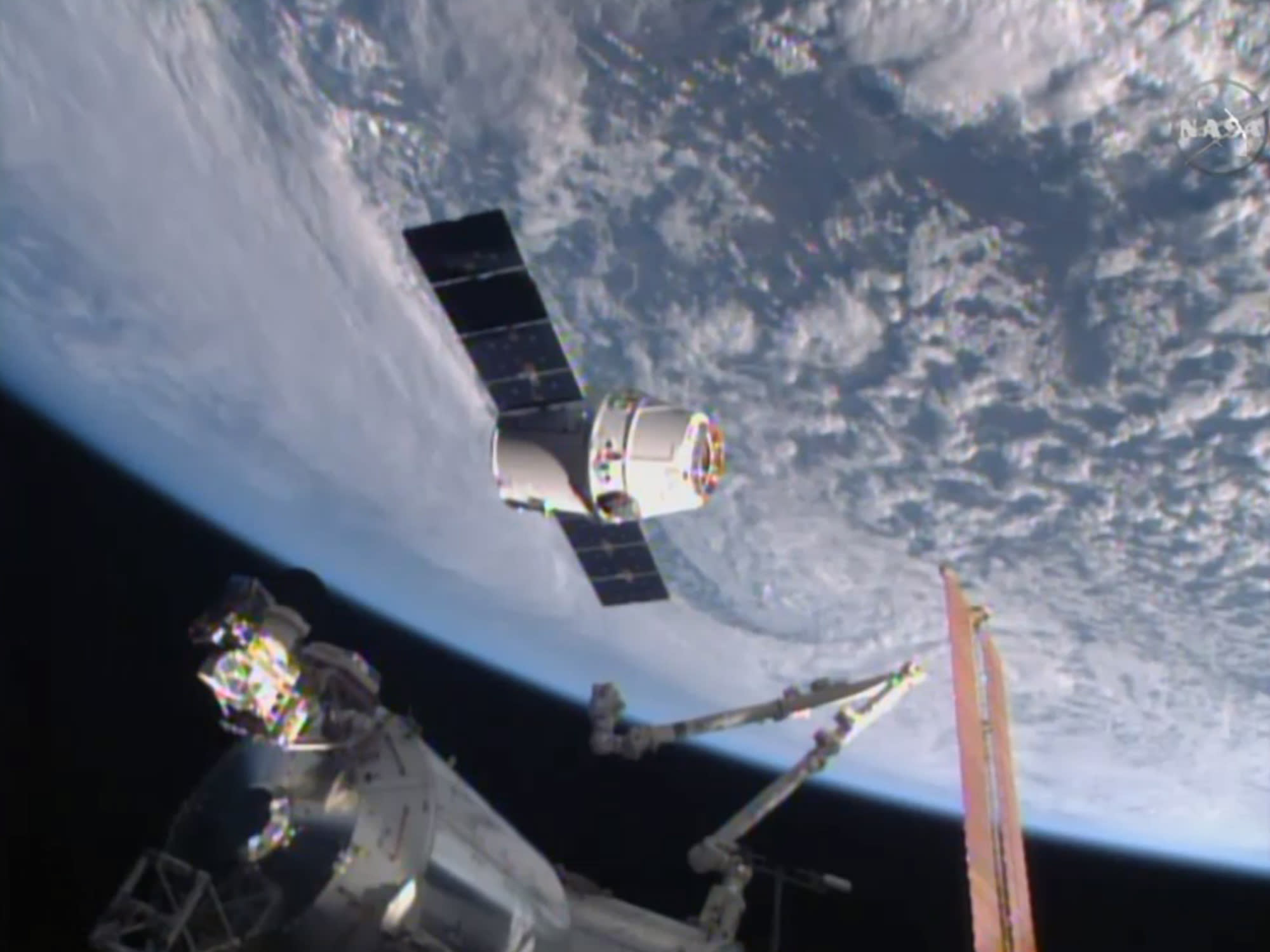 SpaceX shipment arrives at space station: 1st espresso maker