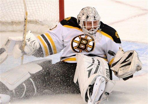 Bergeron scores 2 as Bruins top Senators 5-3