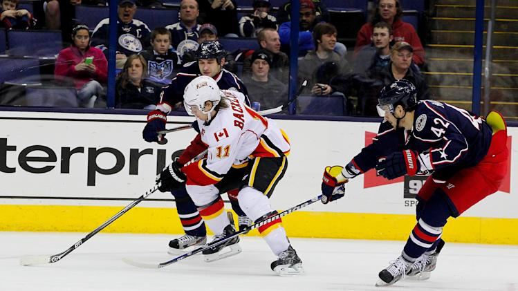 NHL: Calgary Flames at Columbus Blue Jackets
