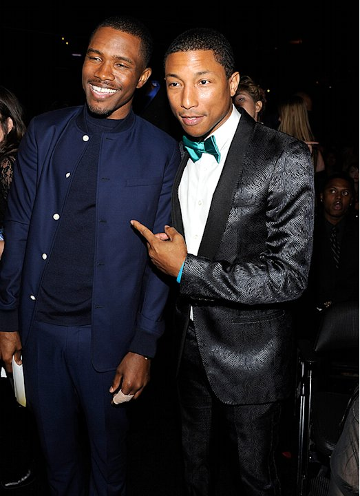 Frank Ocean, Pharrell Williams
