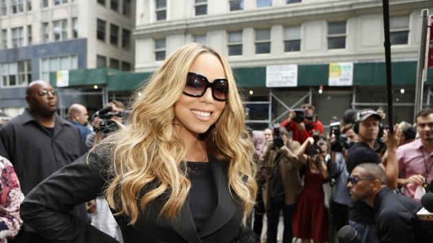 Mariah Carey arrives at the New York auditions of 'American Idol,' Season 12 -- FOX