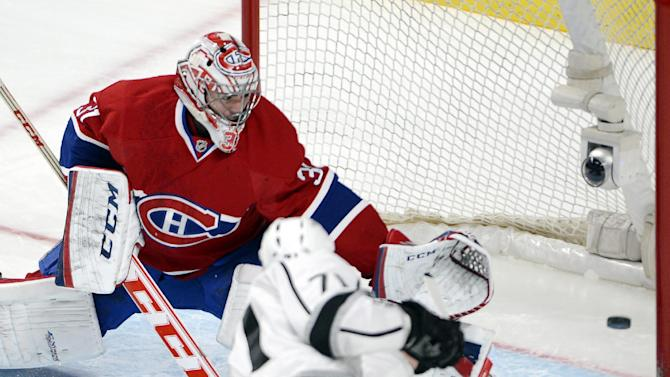 Kings pound Canadiens 6-0