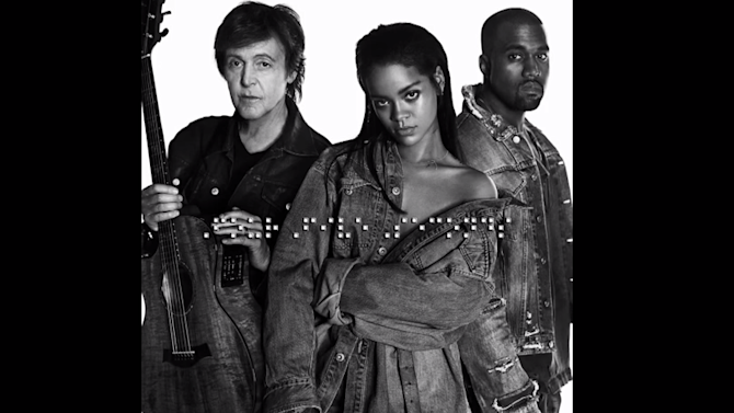 Paul McCartney teams with Kanye, Rihanna to deliver a generation-spanning hit single