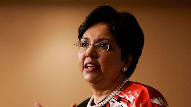 Indra Nooyi, CEO of Pepsi