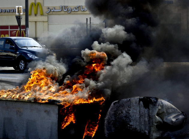 Bahrain Protesters Challenge Police In Capital