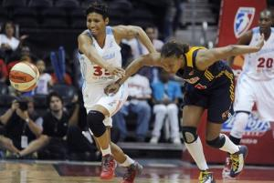 Catchings, January help Fever beat Dream in Game 2