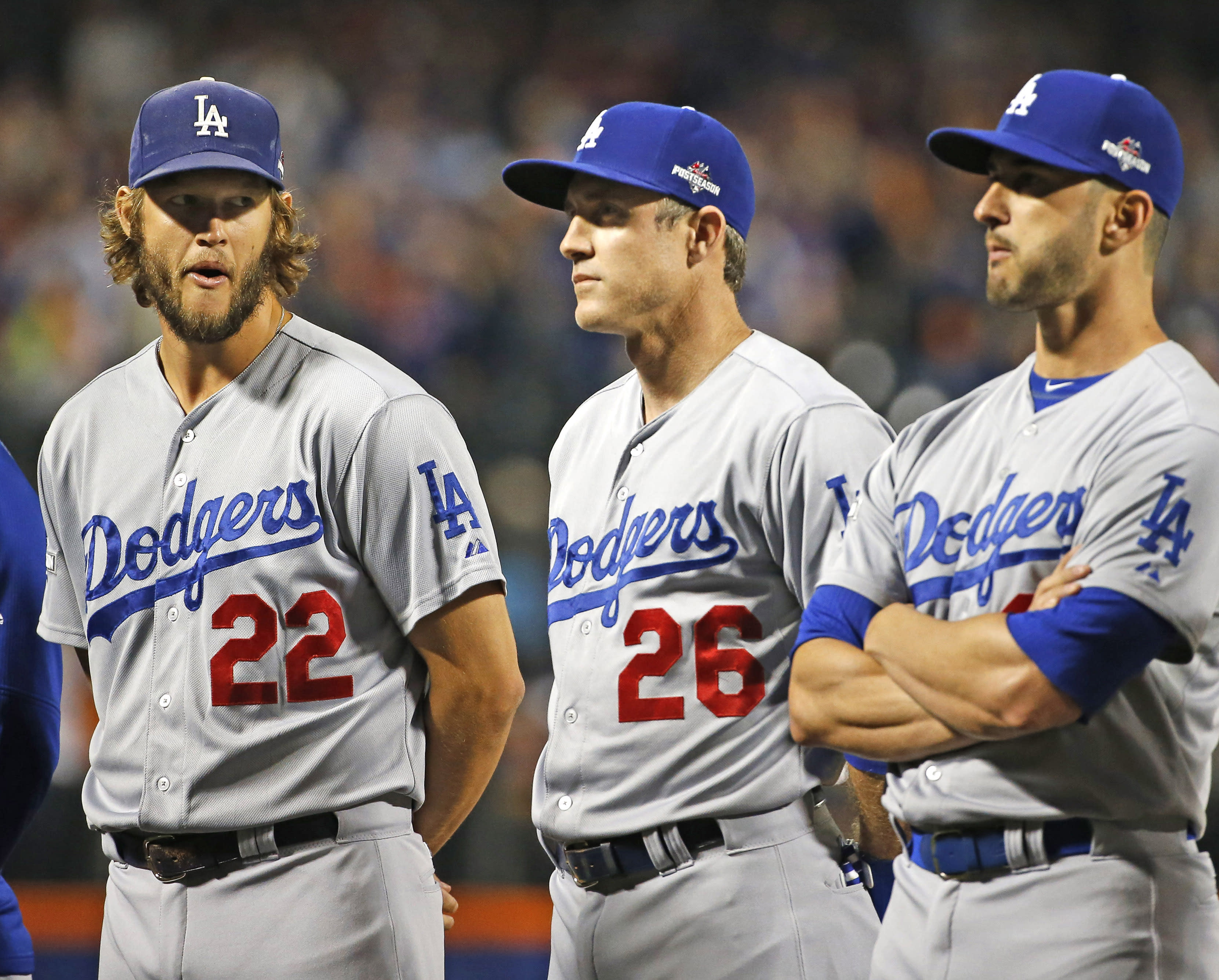LEADING OFF: Kershaw on 3 days' rest, Cubs a win from NLCS