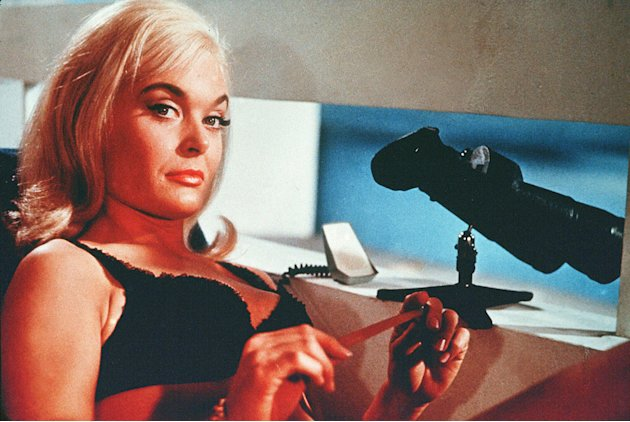 Bond Girls Gallery 2008 Goldfinger Shirley Eaton