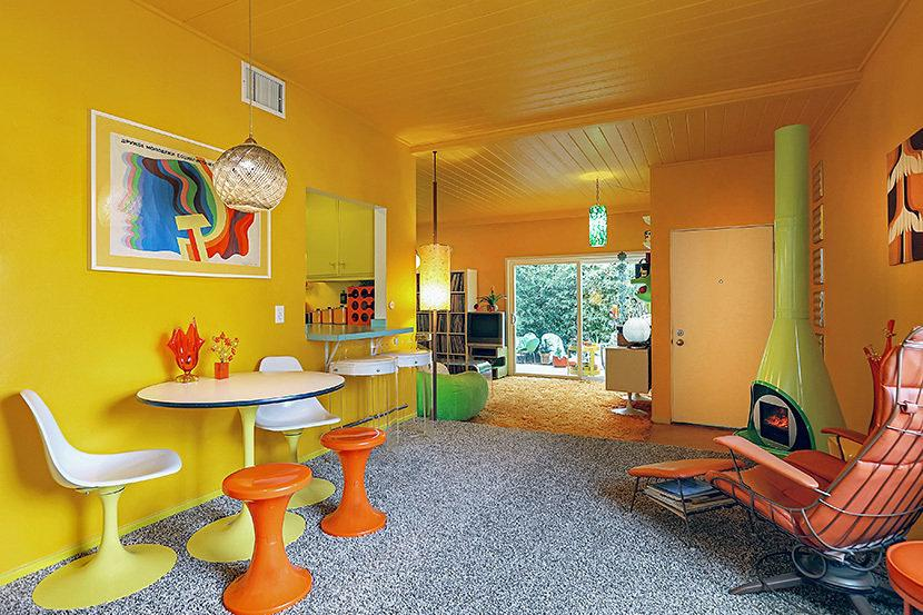 Groovy Babies: Groovy '70s-Inspired Pad With 'Tiki Oasis Patio' Asks $749K
