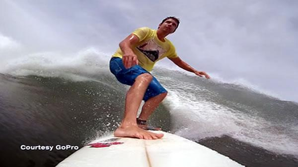 Inspiration for GoPro camera came during surfing trip