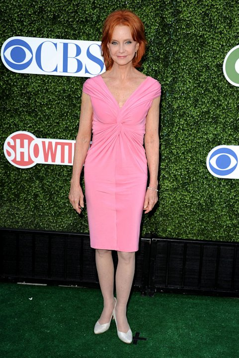 """Mike and Molly's"" Swoosie Kurtz arrives at the TCA Summer 2010 CBS/The CW/Showtime ""Star Party in the Tent"" on July 28, 2010 in Beverly Hills, California."