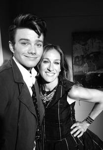 Chris Colfer and Sarah Jessica Parker  | Photo Credits: Ryan Murphy/Twitter