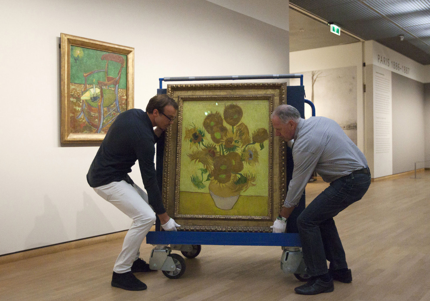 Dutch Van Gogh Museum Closes, Masterpieces Moved