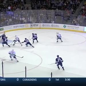 Vancouver Canucks at Tampa Bay Lightning - 01/20/2015
