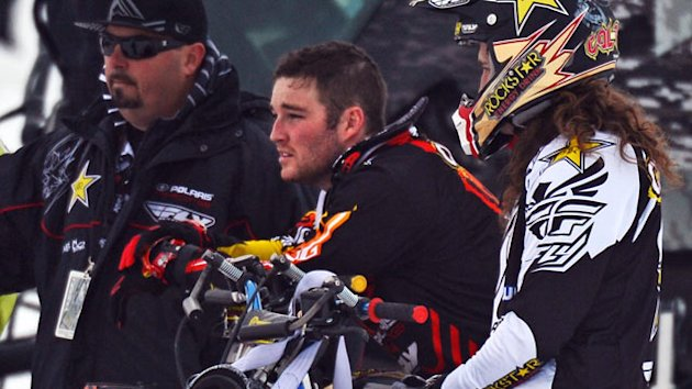 Snowmobiler Caleb Moore Dies (ABC News)