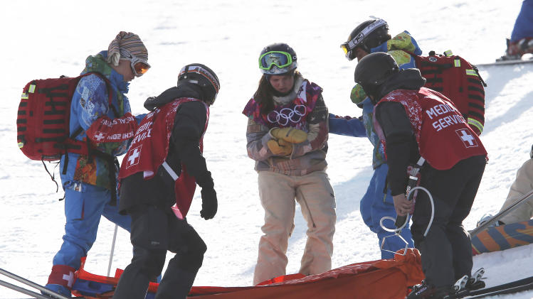Arielle Gold injured in halfpipe training