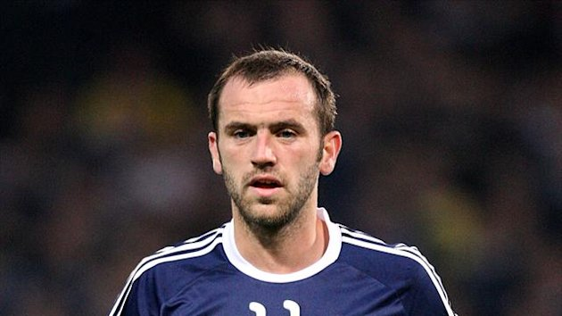 Well boss Stuart McCall believes James McFadden, pictured, is lacking in match fitness