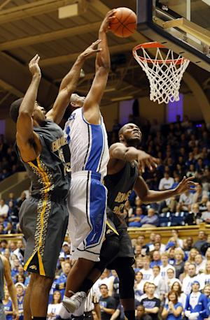 Hood scores 19 in Duke preseason warmup