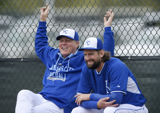 Royals largely settled as spring training opener nears