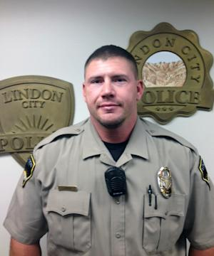 FILE - This undated file photo released by the Lindon City Police Department shows police officer Joshua Boren from Lindon, Utah. Authorities say Boren used his service weapon when he killed his wife, two children and his mother-in-law before turning the gun on himself in January. Spanish Fork City Police Lt. Matt Johnson says the agency's investigation was unable to determine Boren's exact motive. But he says investigators did learn the 34-year-old Boren and his wife were having marital problems. (AP Photo/Lindon City Police Department, File)