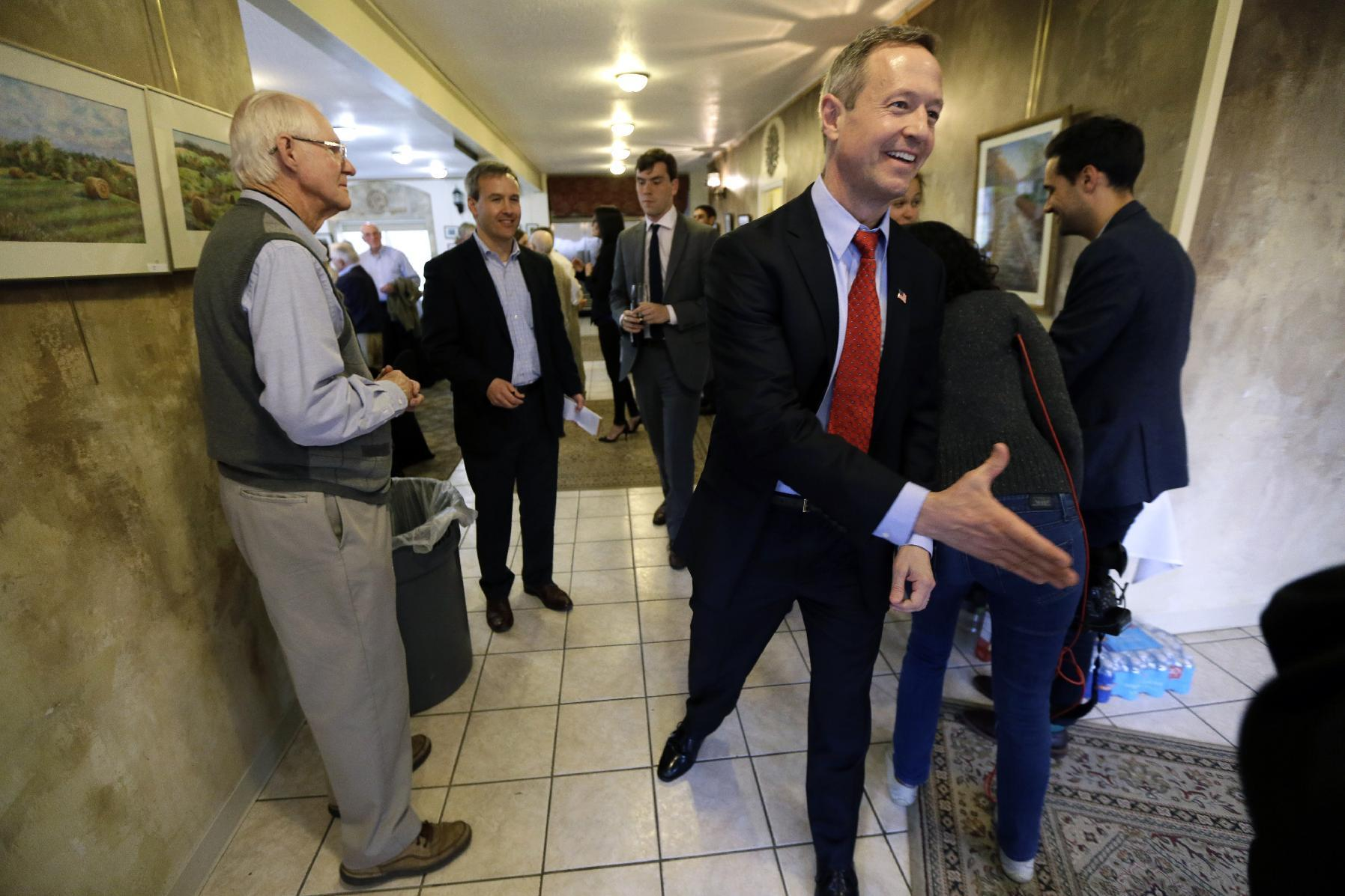 For O'Malley, a lot riding on Iowa in 2016 campaign