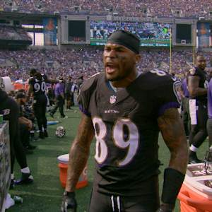 'Inside the NFL': Baltimore Ravens wide receiver Steve Smith Sr. reminds Panthers of his value