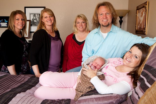 "The Brown family of TLC's ""Sister Wives"" welcome a new addition to the family! Robyn – Kody's fourth wife – gave birth to Solomon Brown on Wednesday, October 26. Baby boy was born at their Las Vegas h"