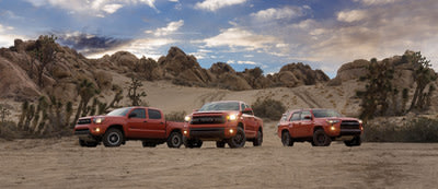 Toyota's all-new 2015 TRD Pro Series truck and SUV lineup debuts in the Southeast at Atlanta International Auto Show.