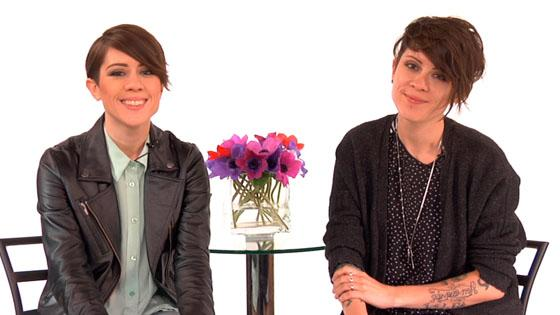 "Tegan and Sara on Leather Jackets and Getting ""Closer"" to Justin Bieber"
