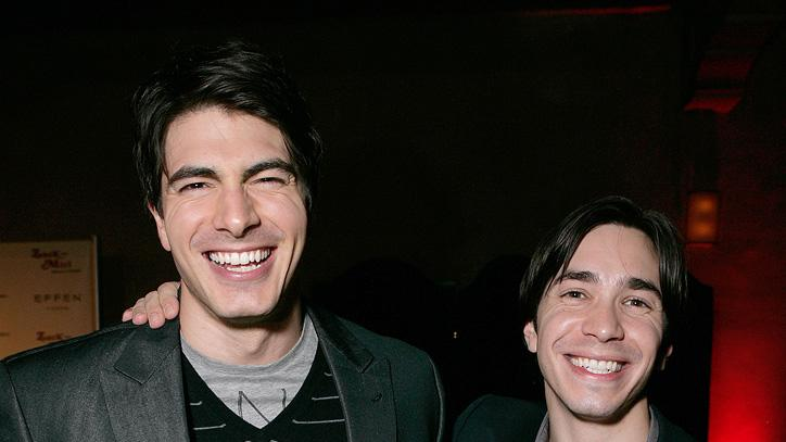 Zack and Miri Make a Porno LA Premiere 2008 Justin Long Brandon Routh
