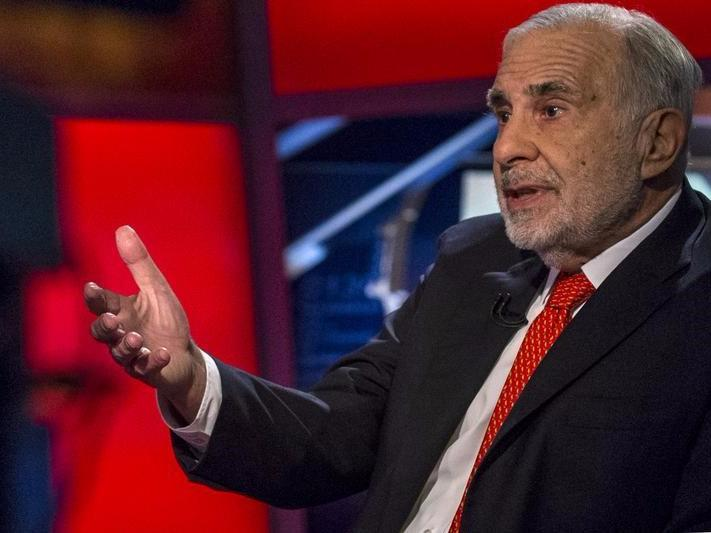 ICAHN: The Trump rally in stocks may have gone too far