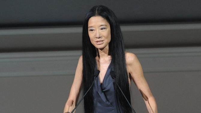 Vera Wang honored for her lifetime fashion passion