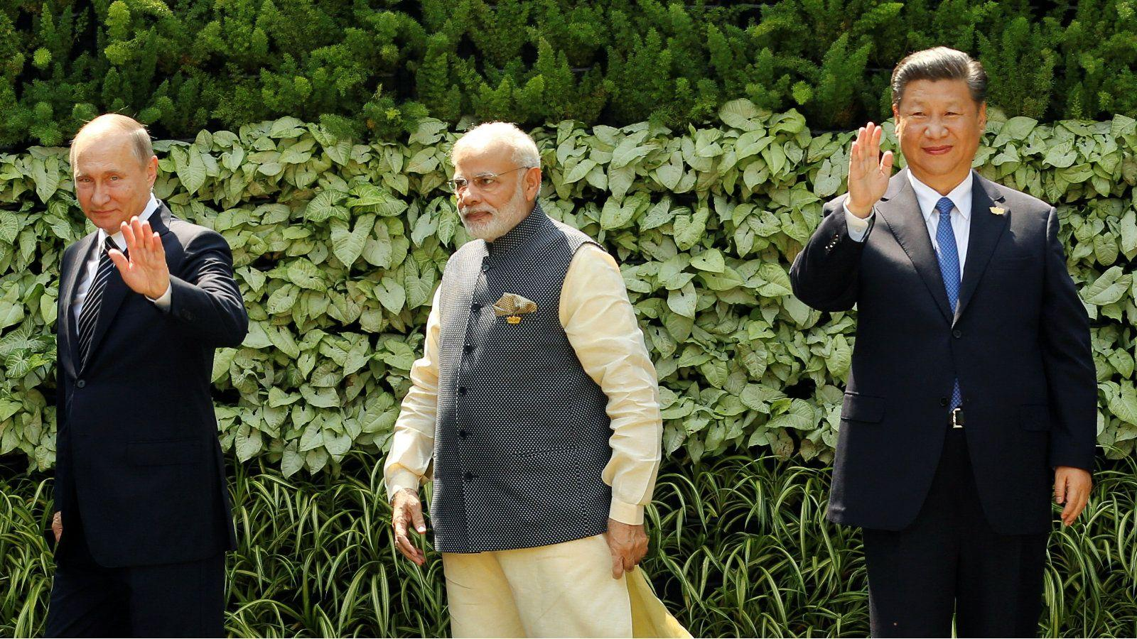 Welcome to an emerging Asia: India and China stop feigning friendship while Russia plays all sides