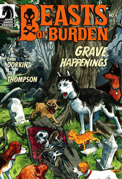 Shane Acker to Direct Animated Version of 'Beasts of Burden' Comic Series